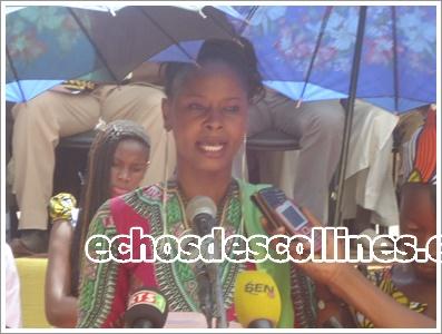 Kédougou Propos: Mme Astou Diagne Cissé, 1ère ajointe au maire de la commune« Vous pouvez compter sur nous dans cette œuvre grandiose de préservation et de restauration de la nature»