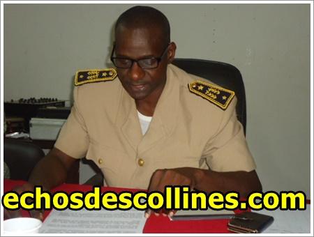 Kédougou: M Omar Sow, adjoint au préfet de Kédougou revigore les agents de l'Etat