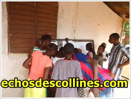 CFEE 2015, l'Académie de Kédougou obtient un taux de réussite de 37,94%