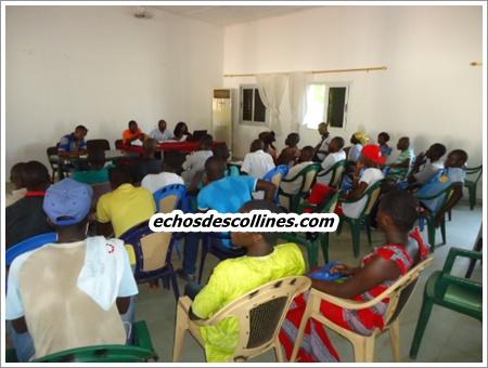 Kédougou: La jeunesse se mobilise pour accueillir le ministre Mame Mbaye Niang