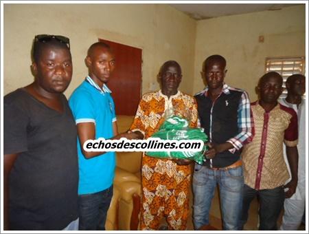 Kédougou: Idrissa Diallo, le chargé de missions à la primature soutient l'ASC Naforé