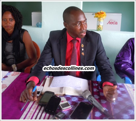 Mamadou Hadji Cissé se présente en modèle aux meilleurs élèves de la région