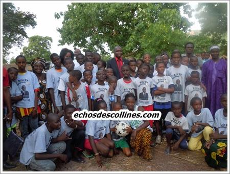 Dindéfélo: Le député-maire Mamadou Hadji Cissé au chevet des campeurs