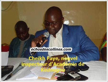 Kédougou: Les syndicats d'enseignants pleurent le départ de l'Inspecteur d'Académie