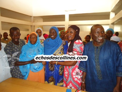 Le conseil départemental de Kédougou accorde une subvention aux femmes.