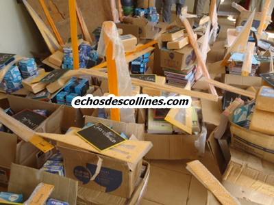 Bandafassi, le maire dote les écoles de sa commune en fournitures scolaires