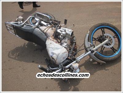 Kédougou: Deux motos se cognent de plein fouet