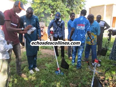 Kédougou: Le PADAER dote les producteurs en matériels de post-récolte