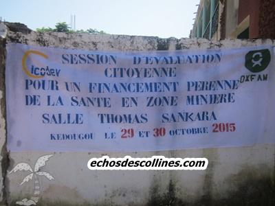 Kédougou: Pour un financement pérenne de la santé en zone minière, les résultats de l'étude révélés au grand public