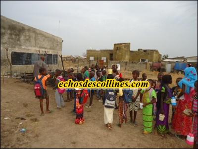 Kédougou: Incendie criminel, une salle de classe calcinée à l'école Pasteur Butler