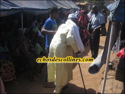 Kédougou: Journée ophtalmologique de l'Amitié des Aveugles