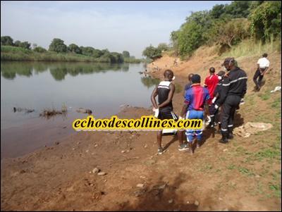 Kédougou: Un corps sans vie repêché dans le fleuve Gambie( photos choquantes)