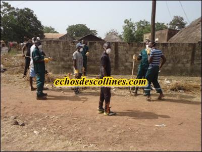 Kédougou: Lutte contre l'insalubrité, les jeunes de Dandé-Mayo s'engagent