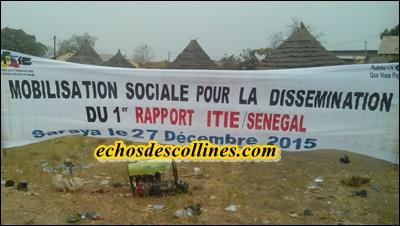 Kédougou: Transparence dans les industries extractives, la société civile vulgarise le 1er rapport de l'ITIE aux communautés