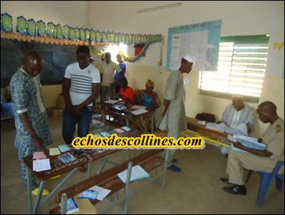Kédougou: Vote à la chambre des métiers de Kédougou