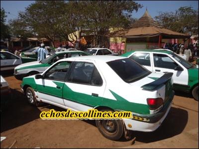 Kédougou: Taxes non recouvrées, les taxis clandos immobilisés