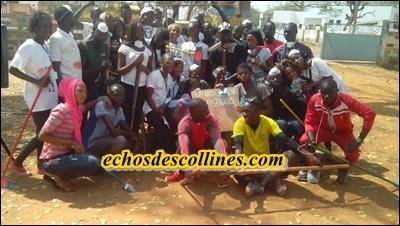 Kédougou: L'AJFEK se dresse contre l'insalubrité et la prolifération des sachets plastiques