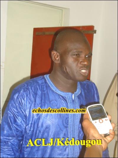 «La population de Kédougou dans sa majorité votera OUI au référendum
