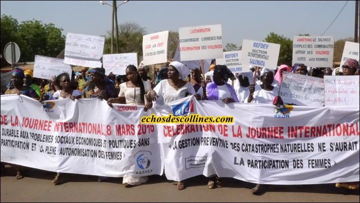 Kédougou: La journée de la femme a été célébrée dans l'unité