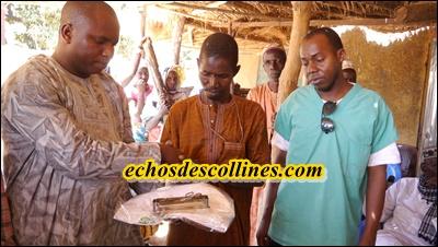 Kédougou: Le maire de Bandafassi équipe la case de santé de Laminya