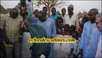 Kédougou: Fadiga inaugure son réseau d'adduction d'eau estimé à 17452 000 FCFA