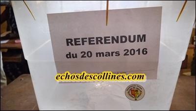 Kédougou: Référendum de mars 2016, les corps militaires et paramilitaires affichent un taux de participation très faible: 18 votants sur 123 inscrits