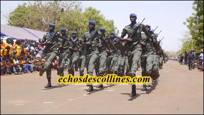 Kédougou: Fête de l'indépendance, William Manel rend hommage aux forces de défense et de sécurité