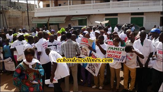 Kédougou: Les travailleurs  ont soumis leurs doléances à l'autorité ce 1er mai