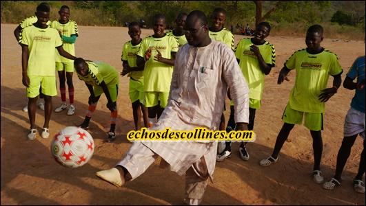Kédougou: Lessény Sy, parrain du tournoi de Dindéfélo