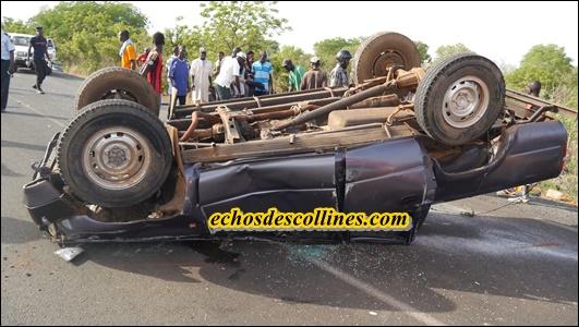 Kédougou: Accident de la circulation, plusieurs blessés graves