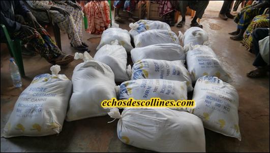 Le conseil Départemental de Kédougou offre 2,5 t de «Sukaaru kor» aux indigents