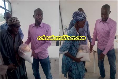 Mamadou hadji Cissé, Maire de la commune de Kédougou offre des kits de ndogou à sa population