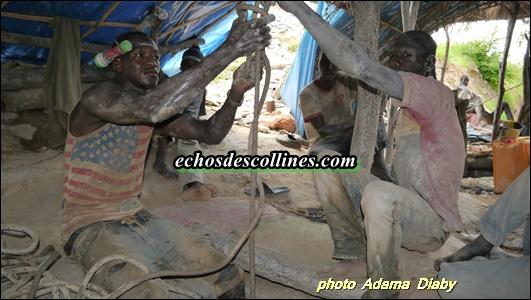 Kédougou : Virée à Bantaco, site d'orpaillage de la commune de Tomboronkoto