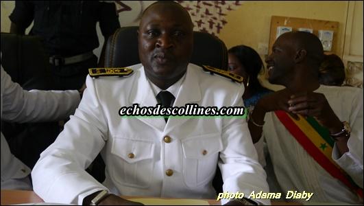 Kédougou: Le préfet Papa Malick Ndao fait ses adieux à la population de Saraya
