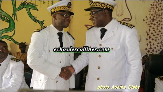 Kédougou: Le Gouverneur William Manel jette un regard sur le travail de Papa Malick Ndao, Préfet sortant de Saraya