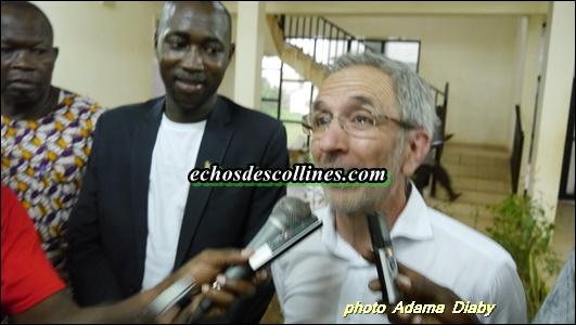 M Josep Majoral, Maire de Granollers:«Je suis là pour comprendre la vie à Kédougou…».