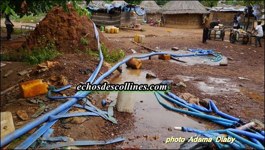 Kédougou: Il crée sa propre entreprise de distribution d'eau à Bantaco