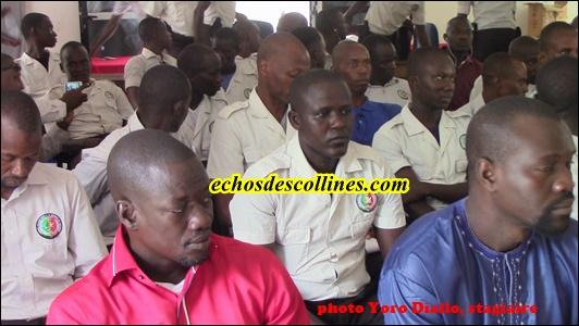 Kédougou: Les ASP formés à la préparation des concours administratifs