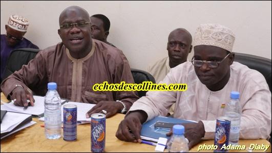 Kédougou: Adama Diouf, Président de l'Association des Départements du Sénégal (ADS) en tournée Nationale