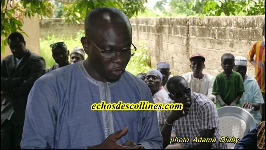 Docteur El hadj Mamadou Dioukhané: « Je retiendrai ici l'ambulance si vous l'utilisez à d'autres fins autres que…»