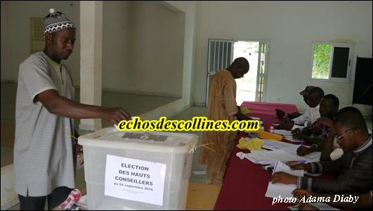 HCCT à Kédougou: 3 bureaux de vote 859 inscrits
