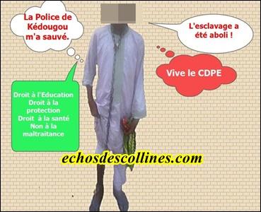 Kédougou: Un maître d'école coranique enchaine son élève comme un esclave