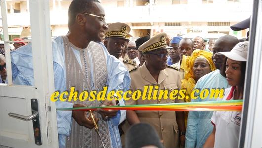 Mamadou Racine Sy, PCA de l'IPRES fait du «waax djeff», l'agence de Kédougou, inaugurée