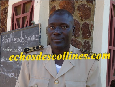 Mouhamadou Moustapha Thiandoum, sous-préfet de Bandafassi:« il n'y aura pas de quiproquo entre éleveurs et agriculteurs si….»