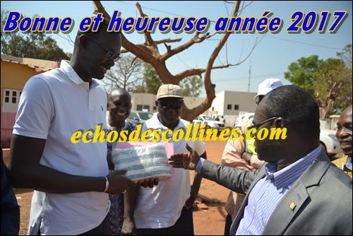 Kédougou: Cheikh Diop, DG du PUDC, élevé au grade de citoyen d'honneur de la commune de Dimboli