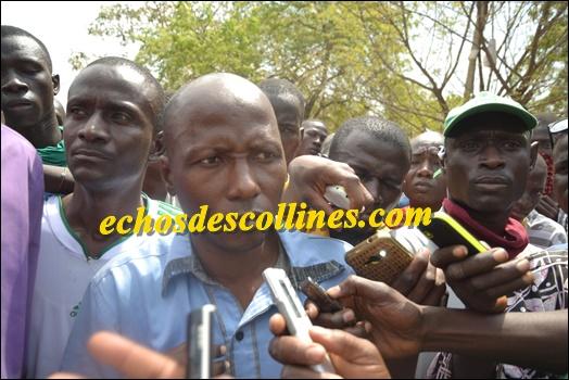 Kédougou: Les manifestants se prononcent sur la mort de Yamadou Sagna