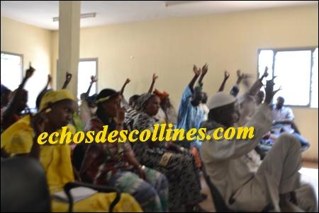 Kédougou: Le budget du conseil municipal de Bandafassi a été voté