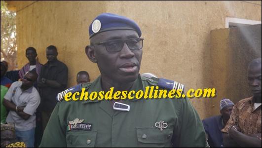 Kédougou: Le lieutenant colonel Moustapha Ndour a présenté ses excuses