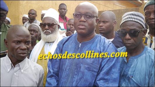 Kédougou William Manel, le Gouverneur de région exprime ses regrets suite à la mort de Yamadou Sagna