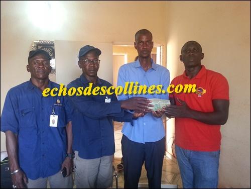 Kédougou: SGO offre 1 million de francs CFA à la jeunesse